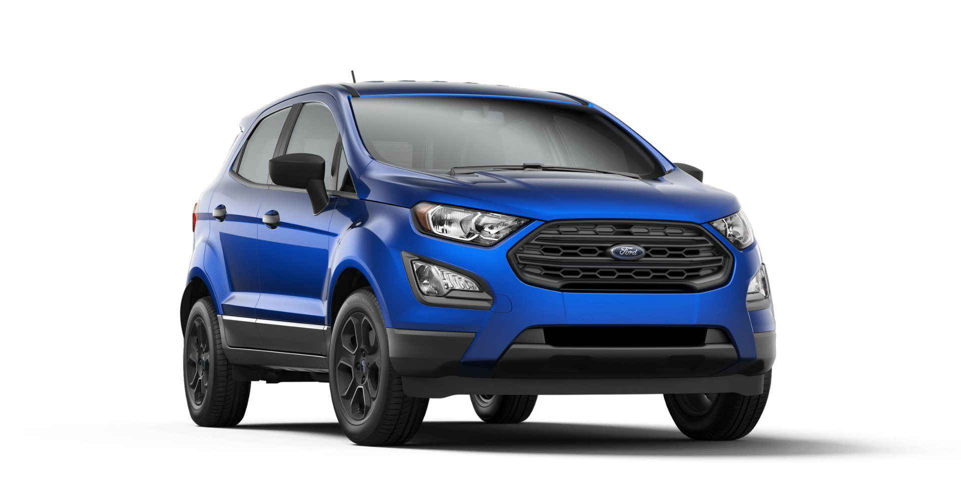 color options for the 2018 ford ecosport