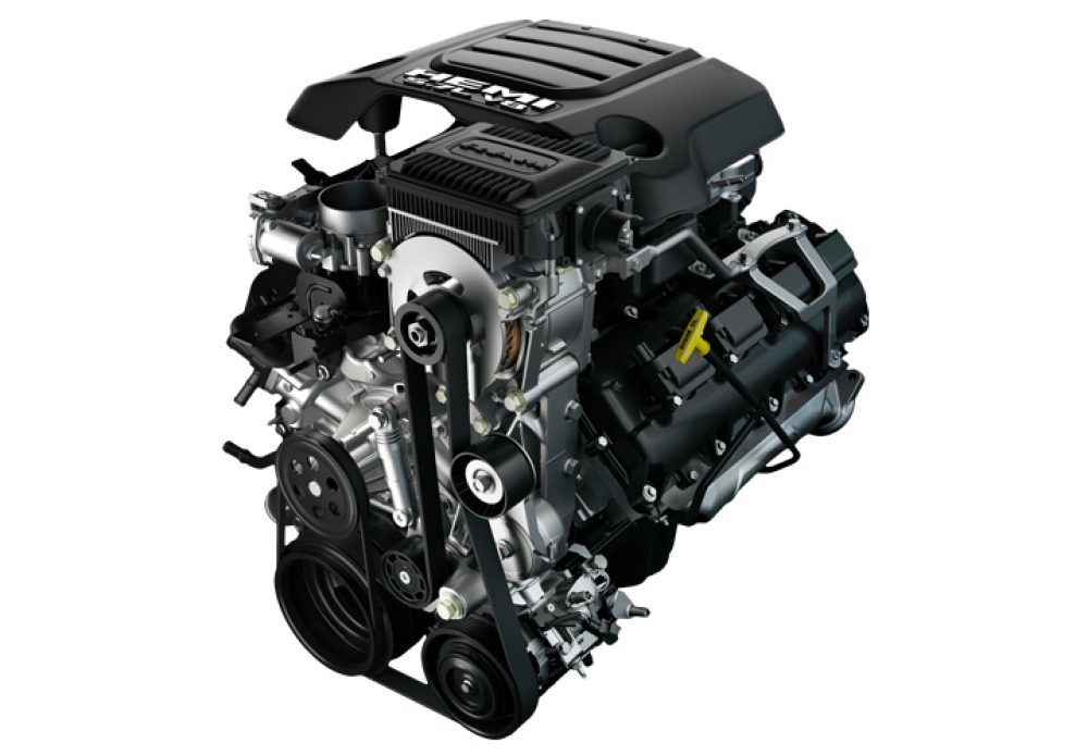 Ram Liter Hemi V Engine With Etorque O