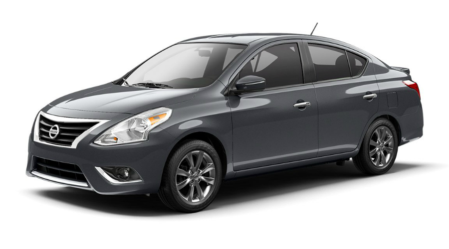Color Options For The 2017 Nissan Versa Sedan