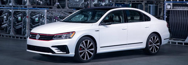 2018 Volkswagen Passat GT exterior white