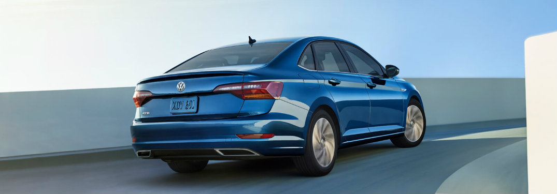 2019 Volkswagen Jetta Rear Blue Silk Color