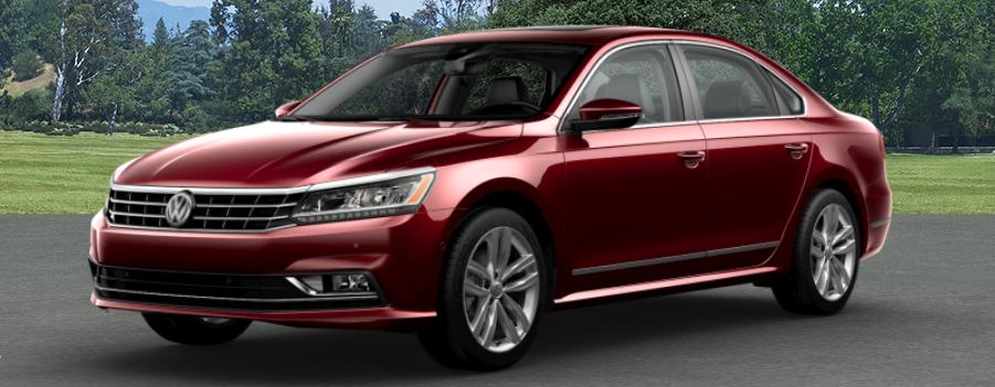2018 Volkswagen Passat Fortana Red Metallic