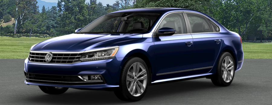 2018 Volkswagen Passat Tourmaline Blue Metallic