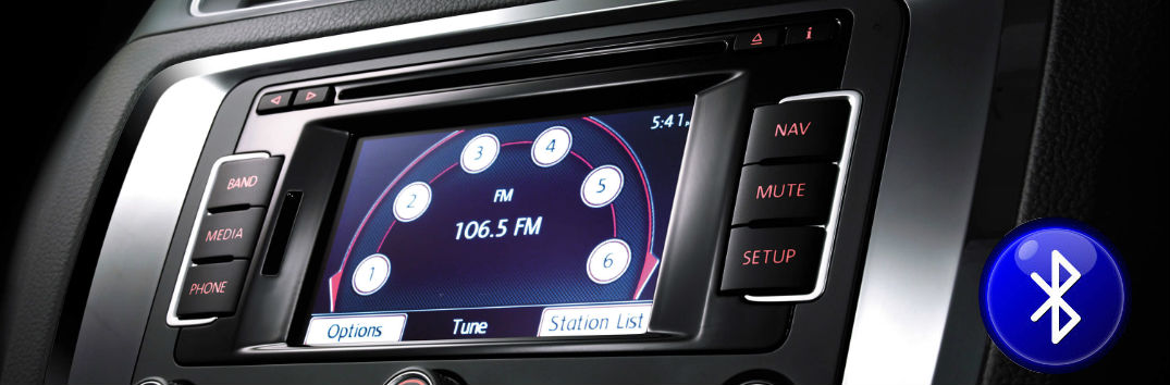 How to pair a smartphone or tablet to VW Bluetooth
