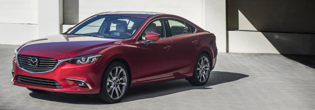 2017.5 Mazda6 front view red