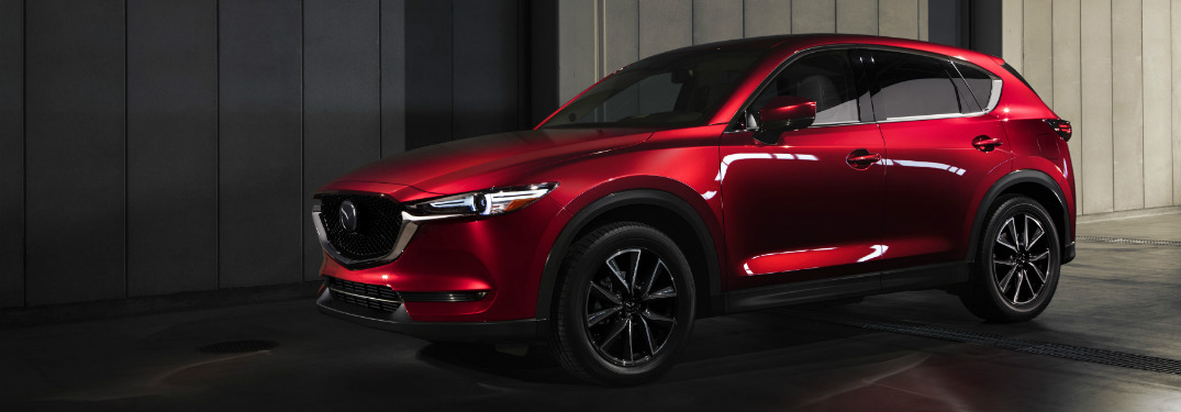 2018 Mazda CX-5 side exterior view red