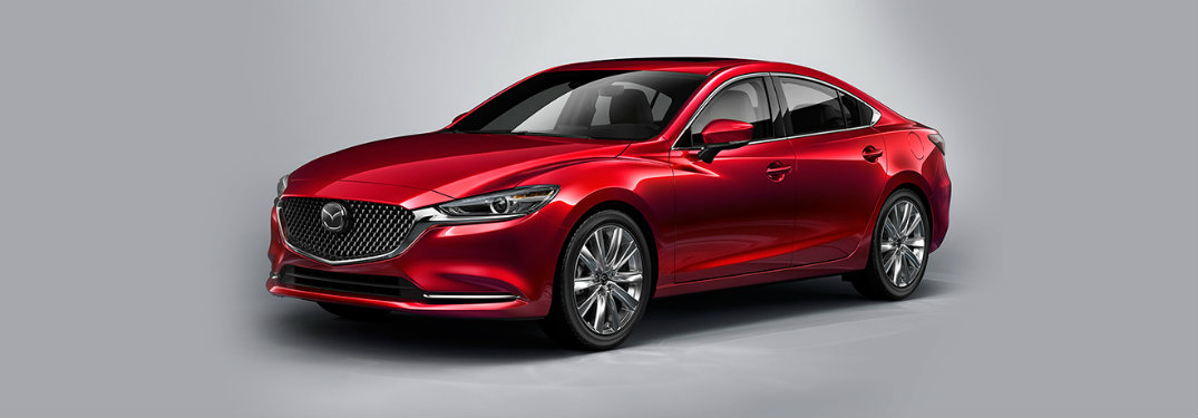 2018 Mazda6 front exterior red