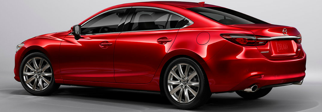 2018 Mazda6 side exterior view right