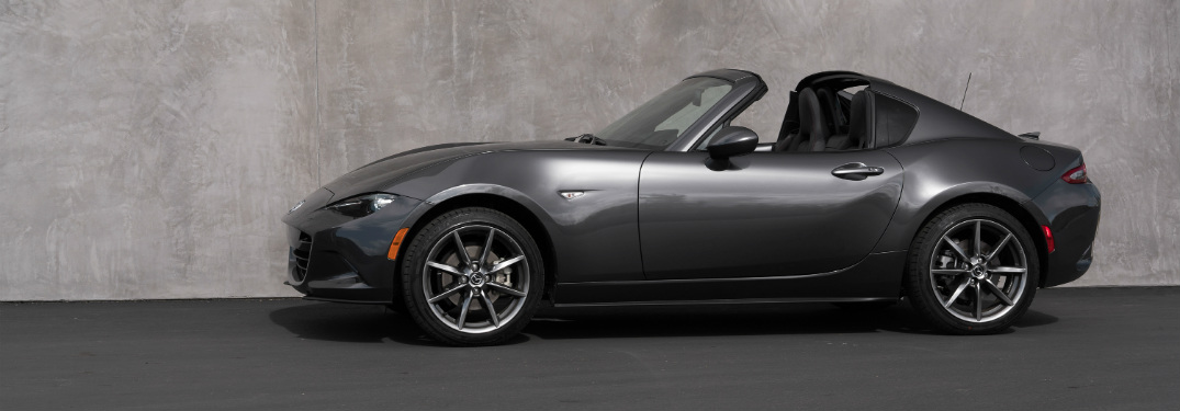 2018 Mazda MX-5 Miata exterior side grey