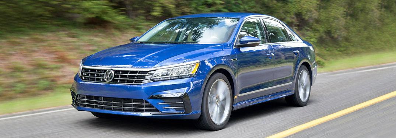2018 Volkswagen Passat blue exterior front
