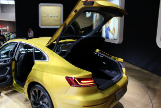 2019 Volkswagen Arteon Back Hatch Open Blog Image Df Onion Creek Volkswagen