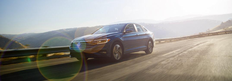 2019 Volkswagen Jetta exterior driving on road