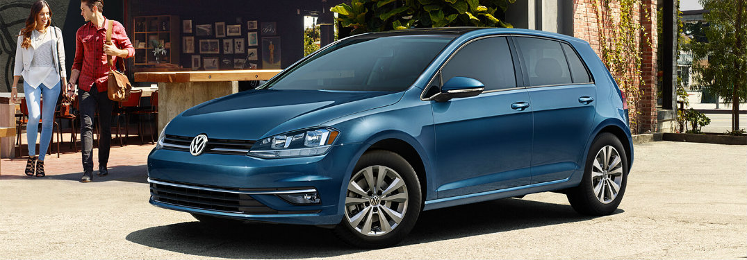 2018 Volkswagen Golf Silk Blue Metallic