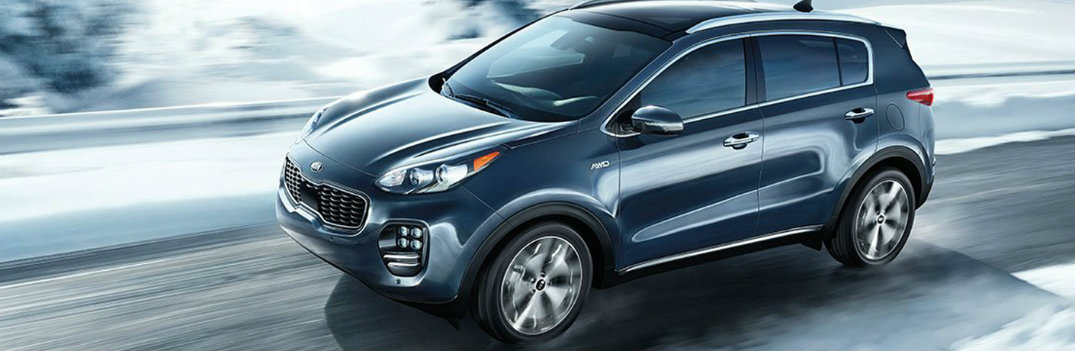 2018 Kia Sportage Winter Driving