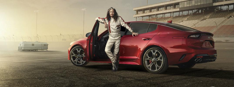 2018 Kia Stinger Super Bowl Steven Tyler Commercial