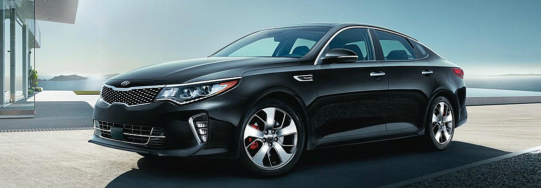 2018 Kia Optima black side view