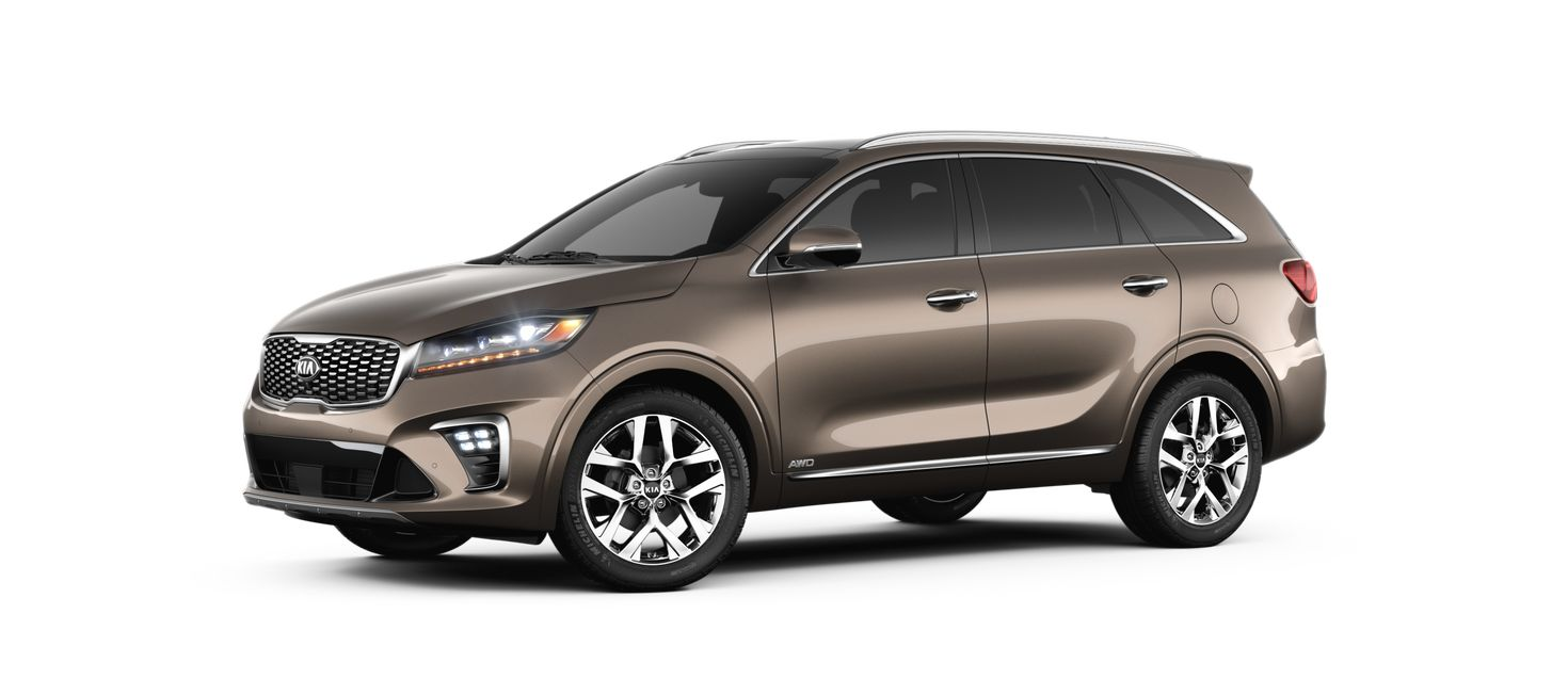 Which Kia models have AWD?
