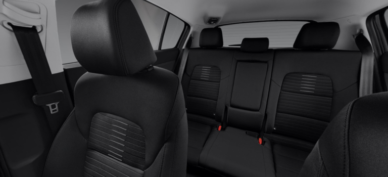 2019-Kia-Sportage-interior-with-black-cloth_o - VanDevere Kia