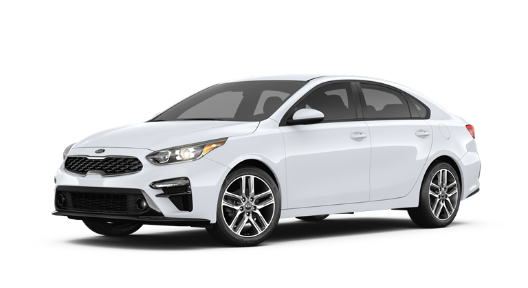 2019 Kia Forte Clear White side view