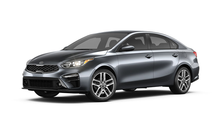 2019 Kia Forte Gravity Grey side view