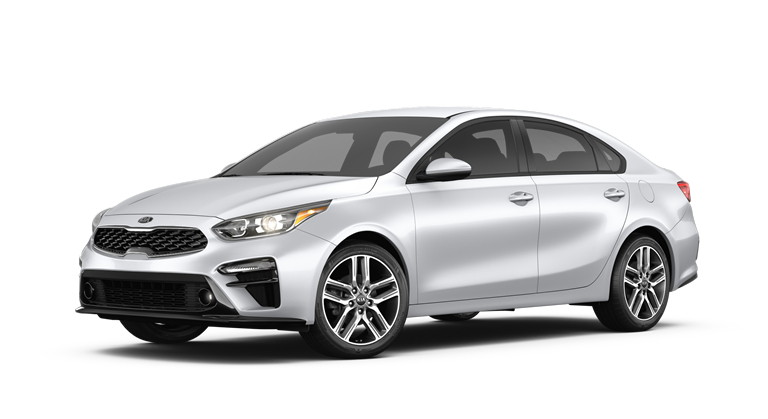 2019 Kia Forte Silky Silver side view