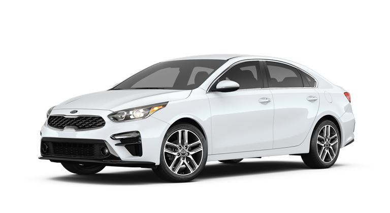 2019 Kia Forte Snow White Pearl side view