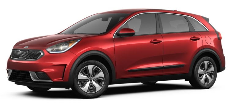 2019 Kia Niro red side view