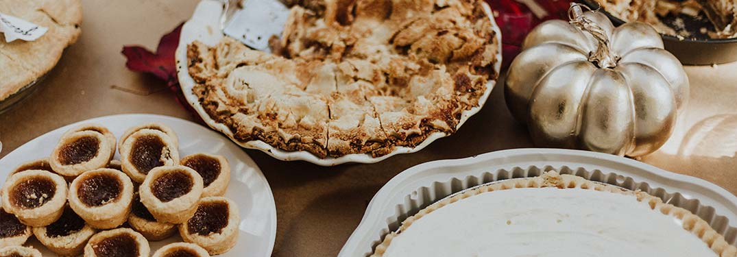 Pies and other Thanksgiving treats