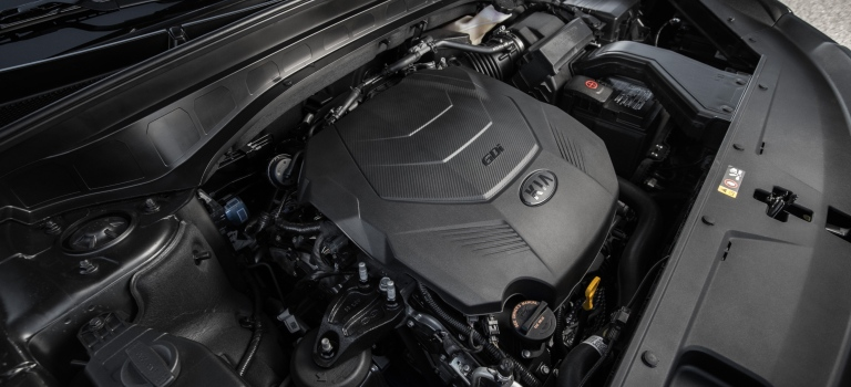 2020 Kia Telluride V6 engine