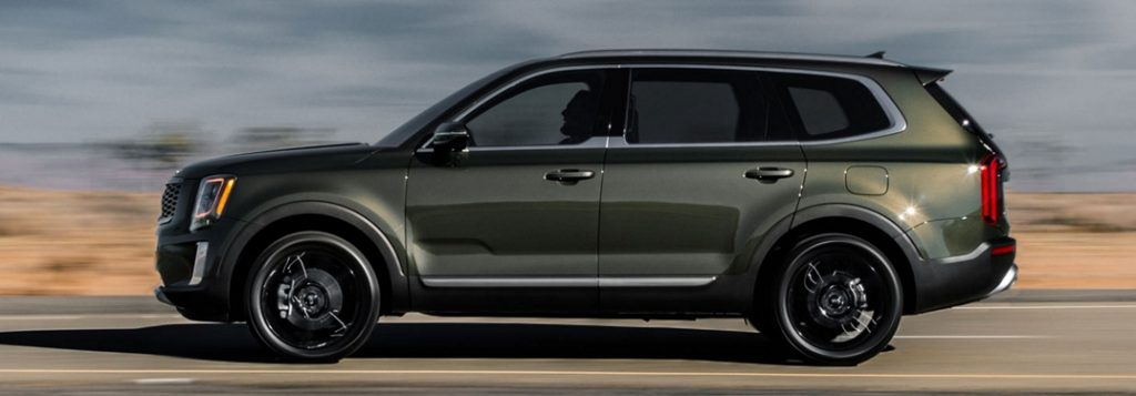 2020 Kia Telluride towing capability and specs