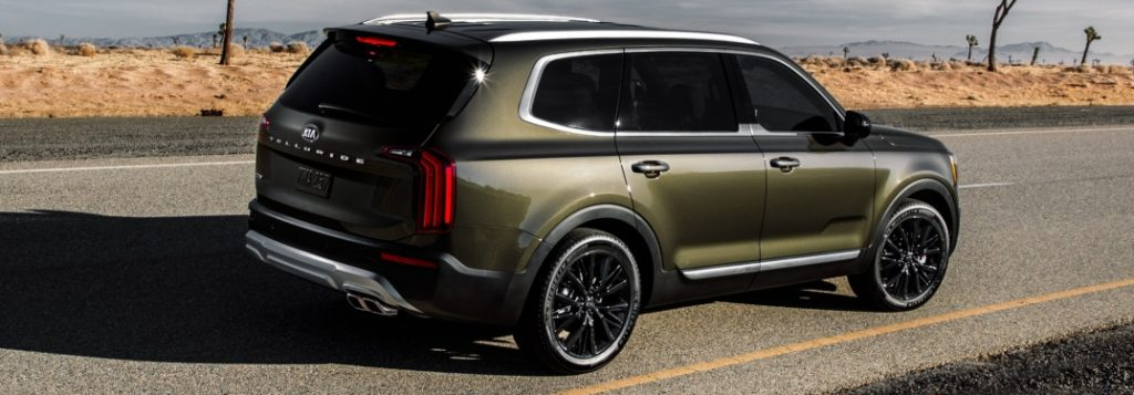 Exterior color options for the 2020 Kia Telluride