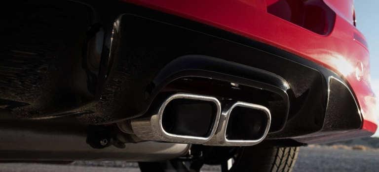 2020 Kia Soul GT-Line center-mounted exhaust