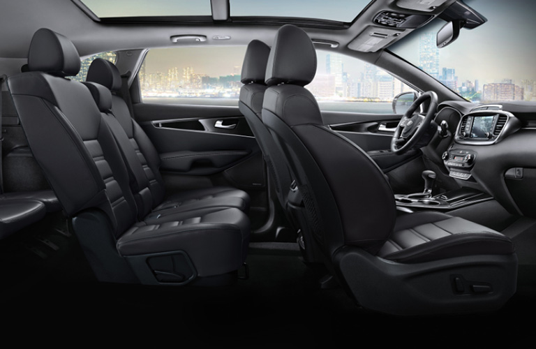 2020 Kia Sorento seats side view