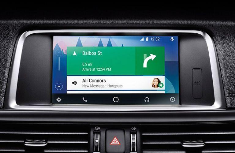 2020 Kia Optima touchscreen view