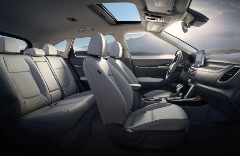 2021 Kia Seltos interior side view