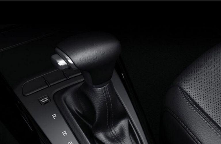 2020 Kia Rio gear shifter view