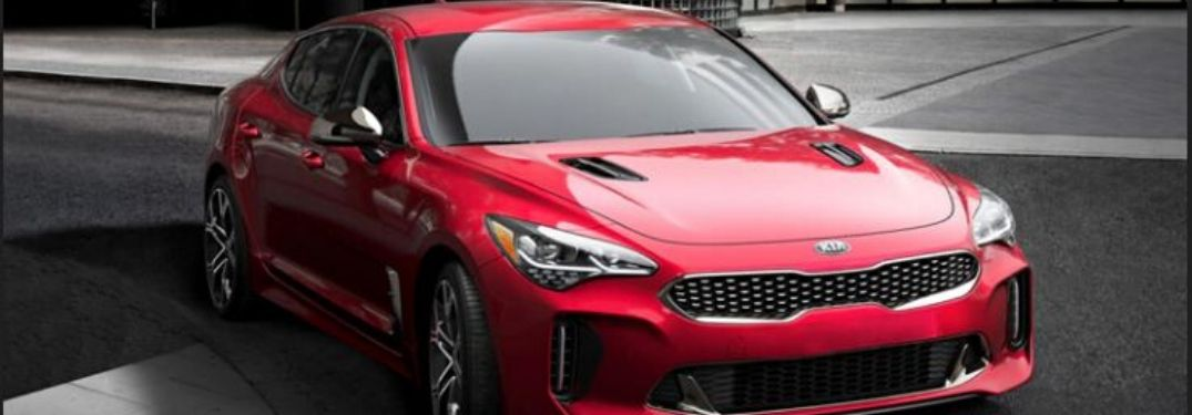 What Color Options are on the 2020 Kia Stinger?