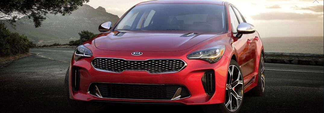 2020 Kia Stinger parked outside front view