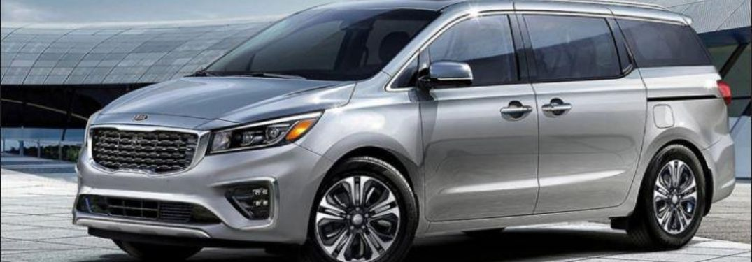 2021 Kia Sedona parked outside side view