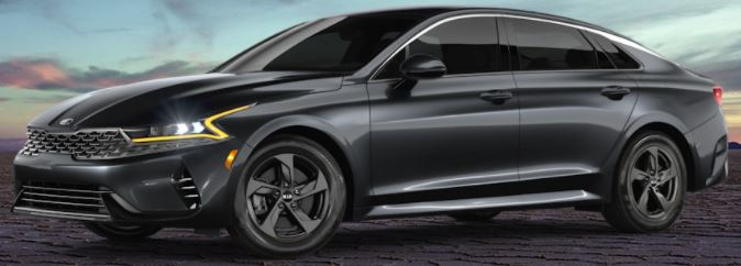 2021 Kia K5 Gravity Gray