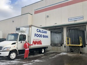 Food Bank Truck Donation