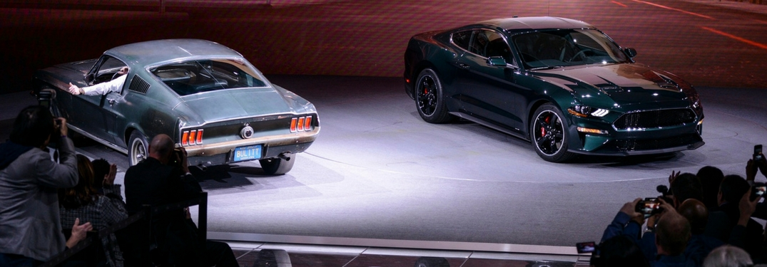 2019 ford mustang bullitt debuts at naims 2018