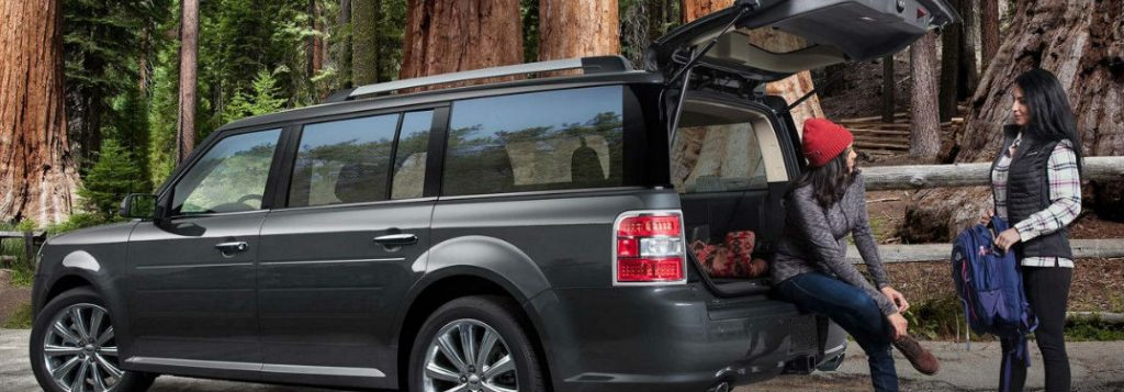 two women by 2019 ford flex