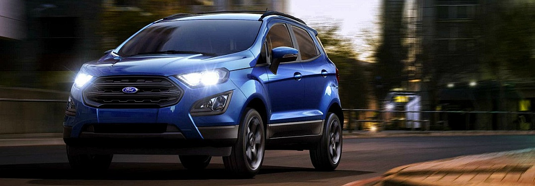 2018 ford ecosport full view driving