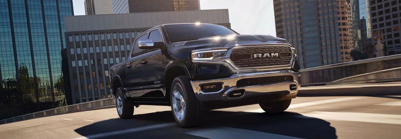 2019 RAM 1500 exterior front black