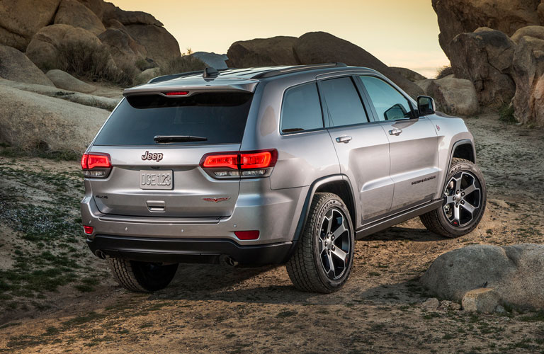 2018 Jeep Grand Cherokee exterior back