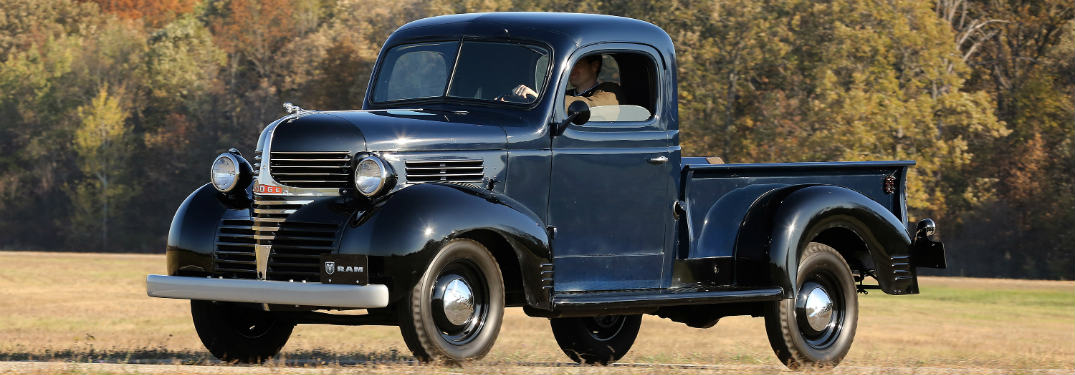 1940 Dodge pickup truck exterior side