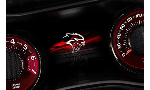 2019 Dodge Challenger Hellcat dashboard
