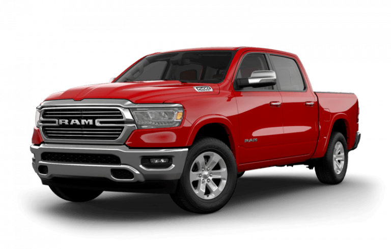 2020 - [Peugeot] Pick Up 2019-RAM-1500-Flame-Red-side-view_o-768x490
