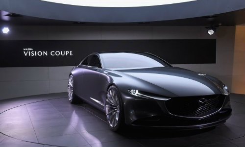 Mazda Kai Concept And Vision Coupe Photo Gallery